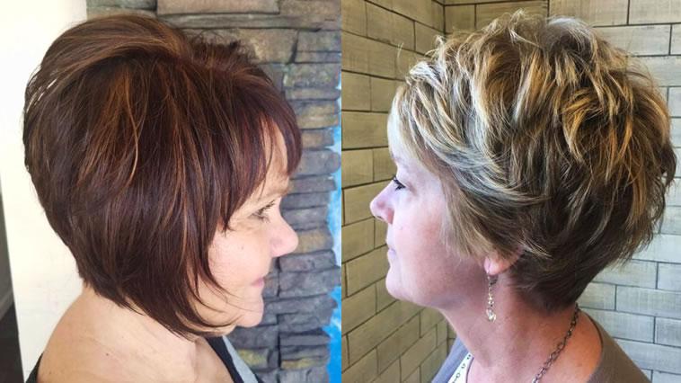 25 coole kurze Bob-Frisuren für Frauen über 60 in den