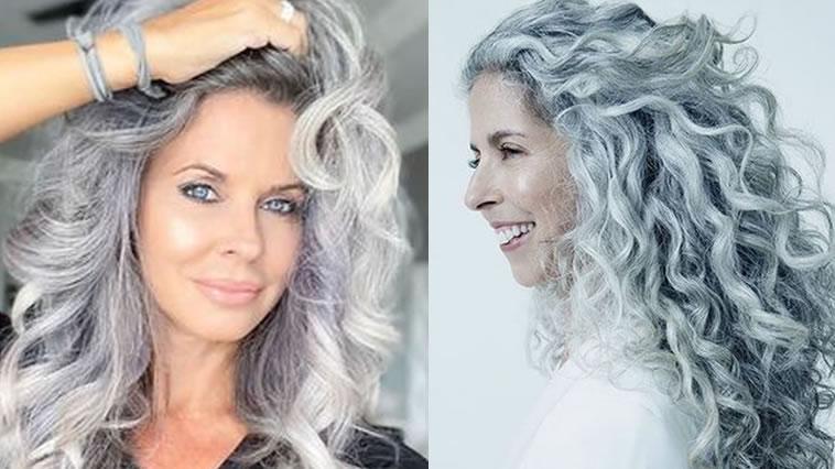 25 trendige lange Frisuren für Frauen über 60 in 2021-2022