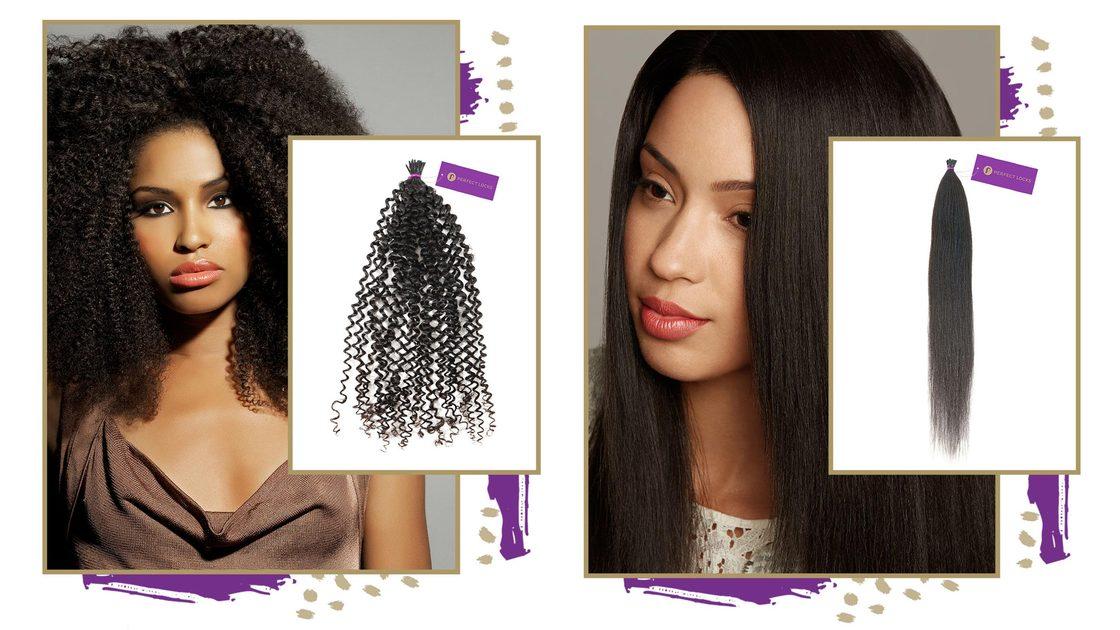 Begrüßen Sie die wunderschönen Fusion I-Tips für strukturiertes Haar - Perfect Locks