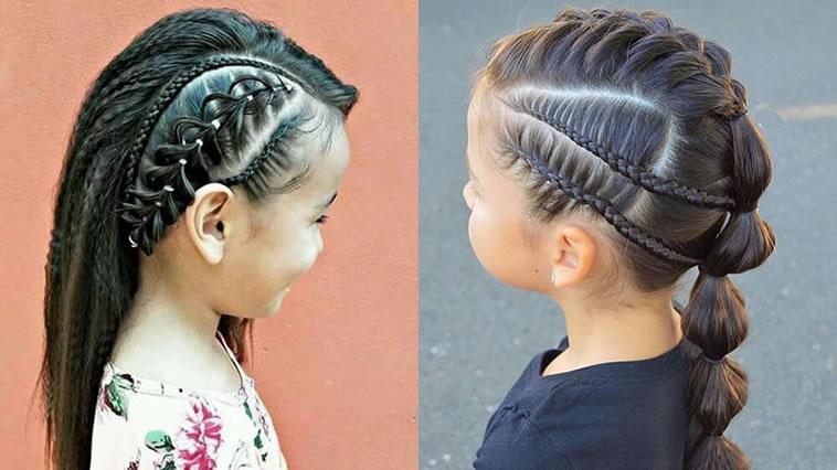 Nette kleine Mädchenfrisuren in 2021-2022 – HAIRSTYLES