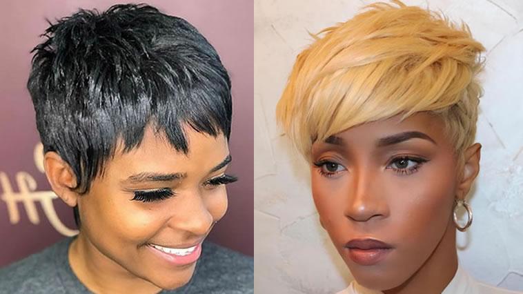 Pixie Haarschnitte für schwarze Frauen in 2021-2022 – HAIRSTYLES