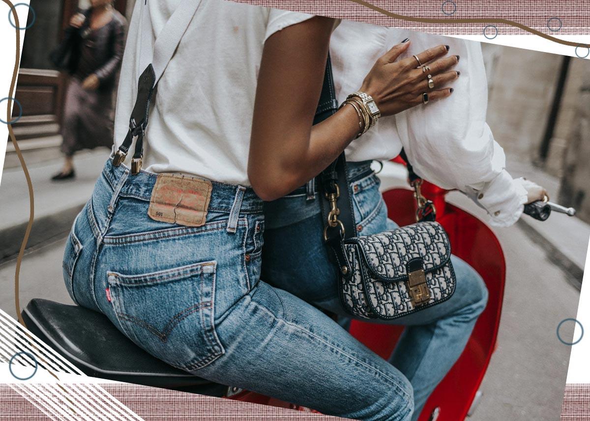So identifizieren Sie Vintage Jeans