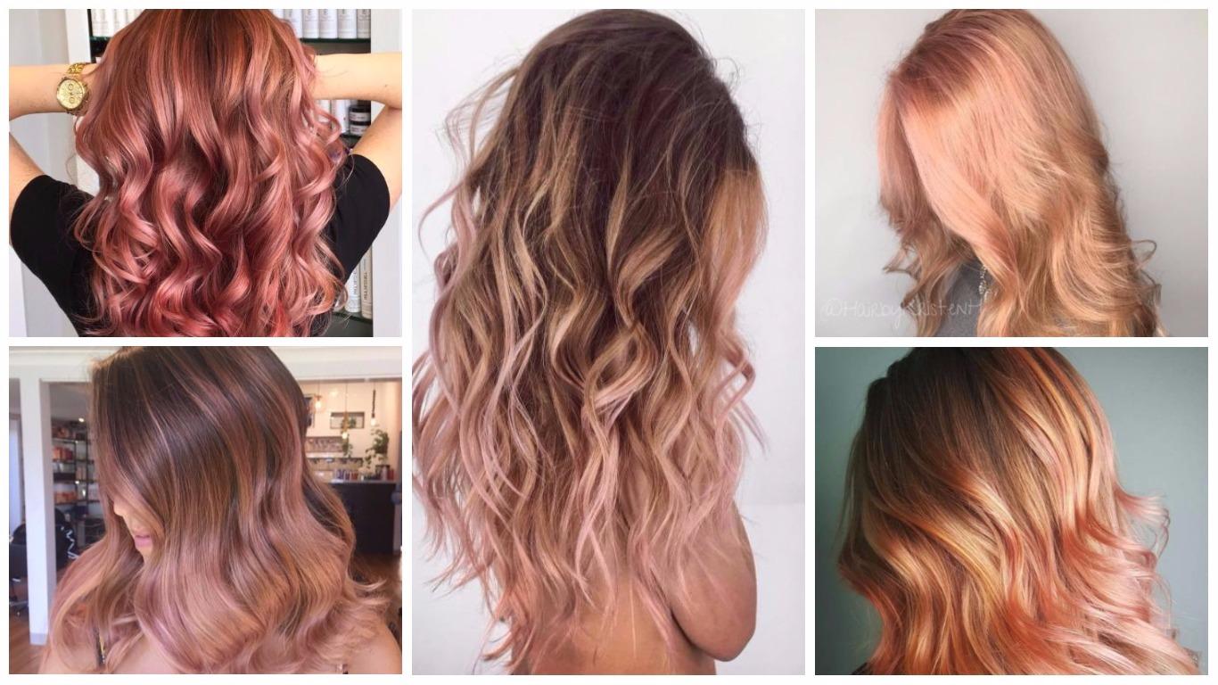 Top Roségold Haarfarben 2019