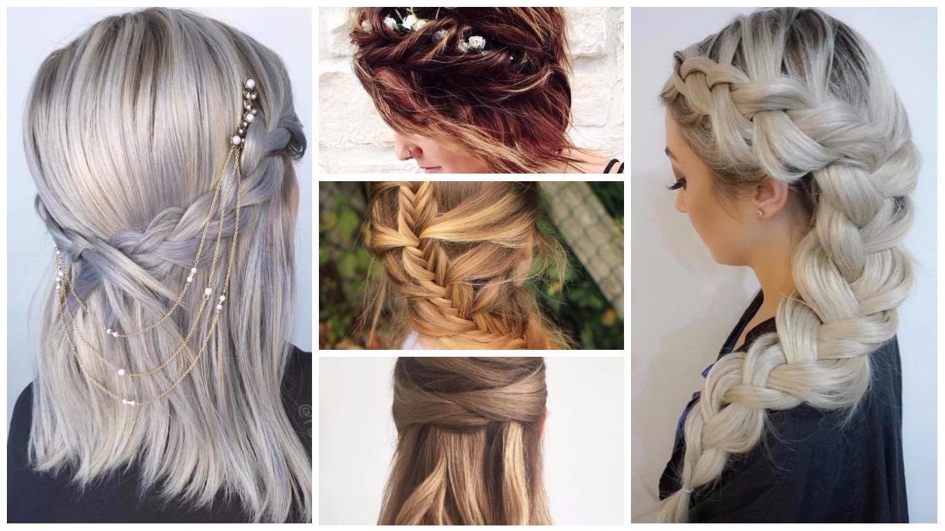 Frisuren für glattes Haar 2019