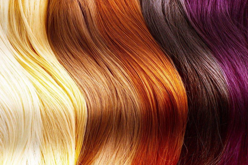 Haarfarbe und Pigmentprozess