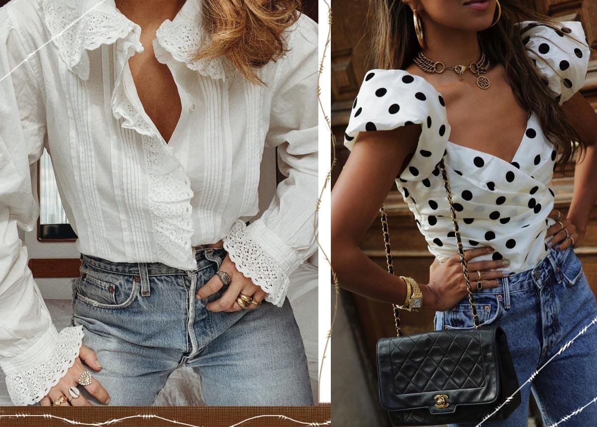 Wie man Vintage Jeans / Denim trägt