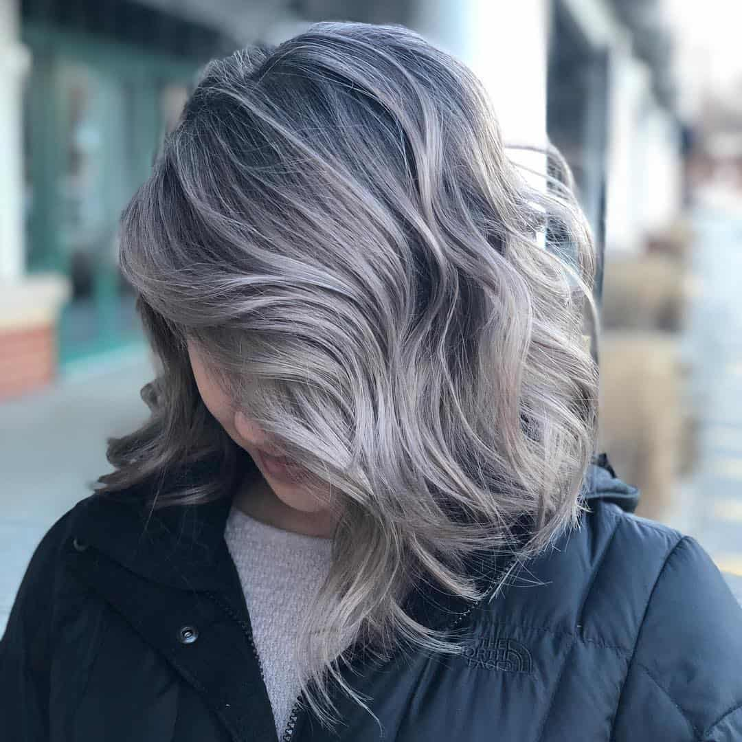 geschichtete Lappen mittlerer Frisuren 2021