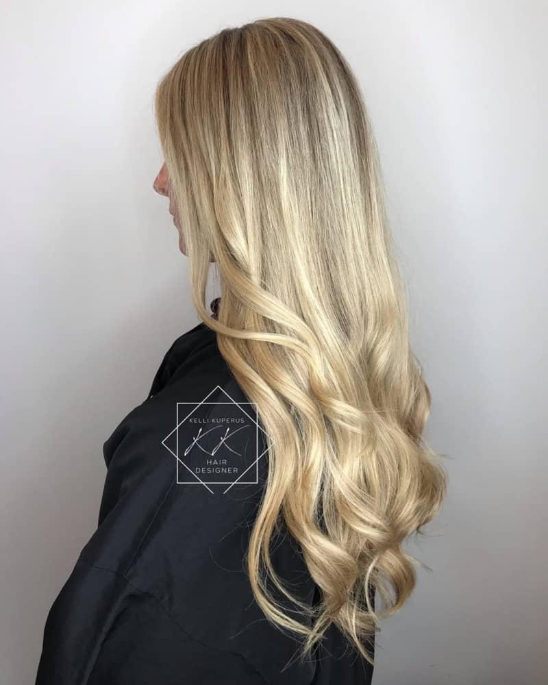 geschichtete Haarschnitte 2021 lange Schichten