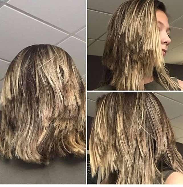 Überlagerte Frisuren 2021