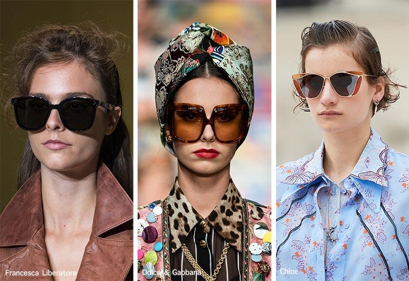 Sonnenbrillentrends Frühjahr / Sommer 2021: Übergroße Sonnenbrillen