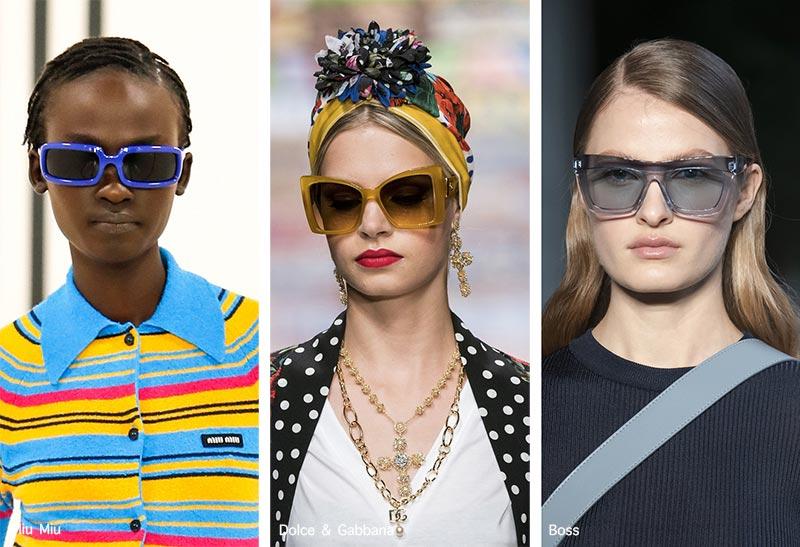 Sonnenbrillentrends Frühjahr / Sommer 2021: Sonnenbrillen mit bunten Rahmen