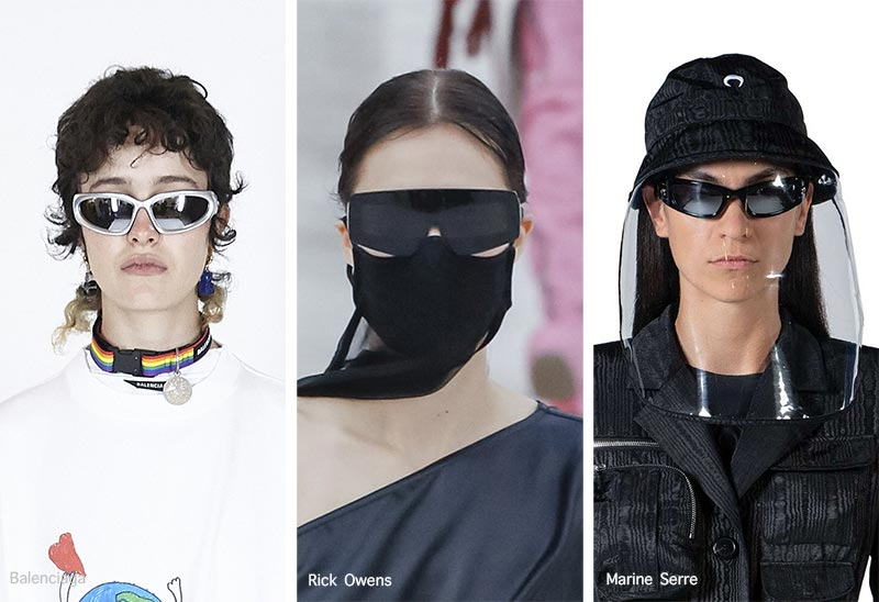 Sonnenbrillentrends Frühjahr / Sommer 2021: Sportliche Sonnenbrillen