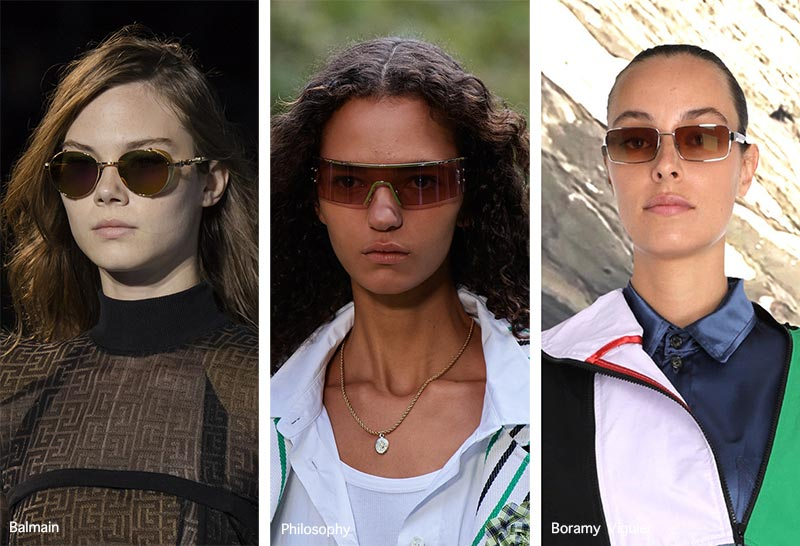 Sonnenbrillentrends Frühjahr / Sommer 2021: Sonnenbrillen mit braunen Gläsern