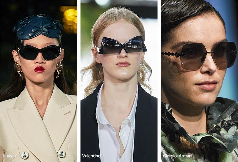 Sonnenbrillentrends Frühjahr / Sommer 2021: Geometrische Sonnenbrillen