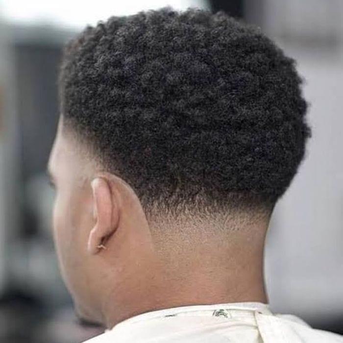 Klassische Taper Fade Frisur