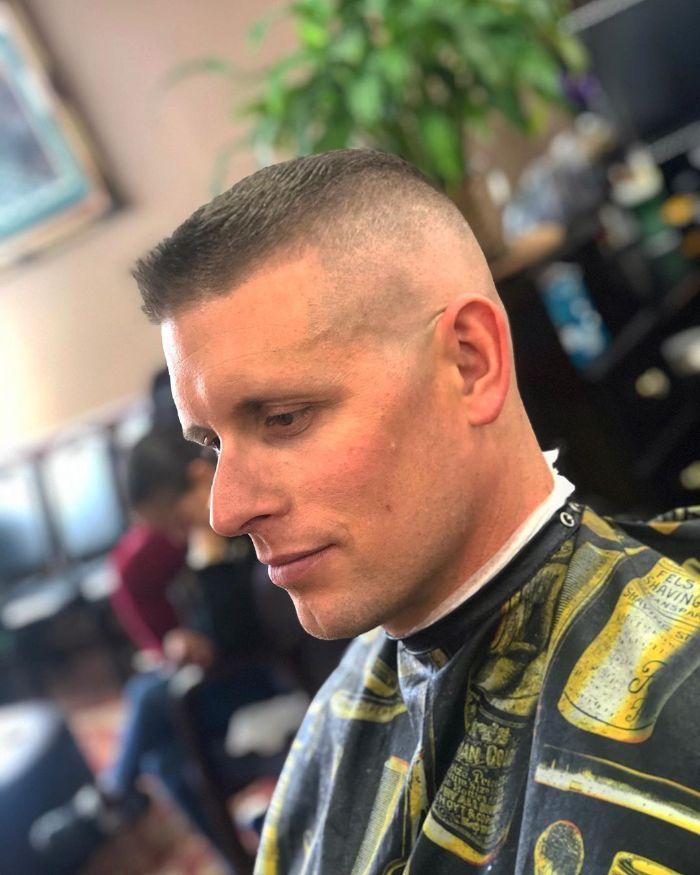 Marine Haarschnitt