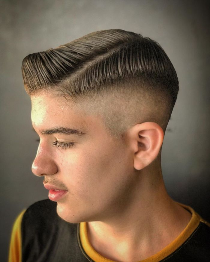 18 besten hohen und engen Haarschnitte für Männer im Jahr