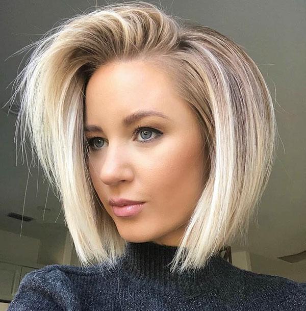 Blondes Ombre-Haar für kurzes Haar