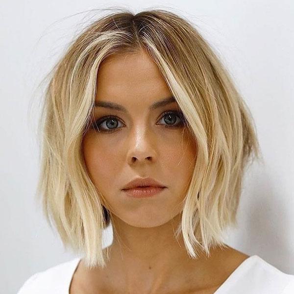 Kurze blonde Ombre Haar Ideen
