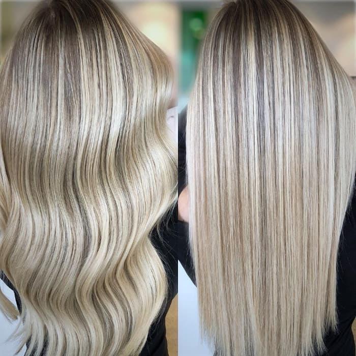 Hervorgehoben und blond