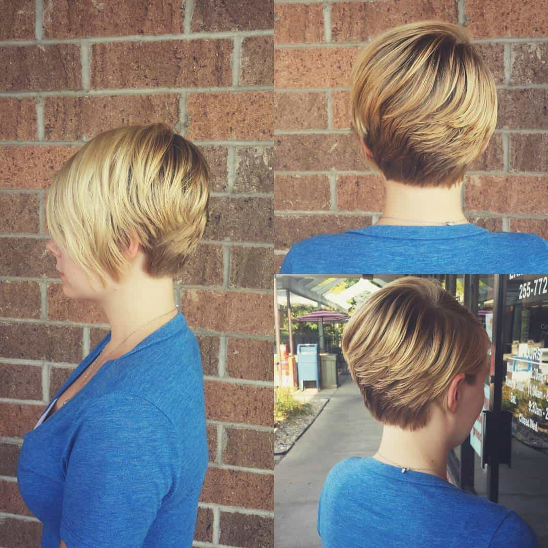 short haircuts for women 2021 layered pixie