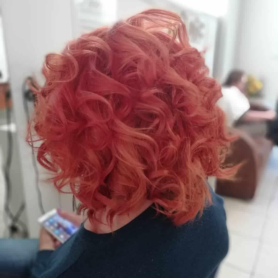 short haircuts 2021 messy ringlets