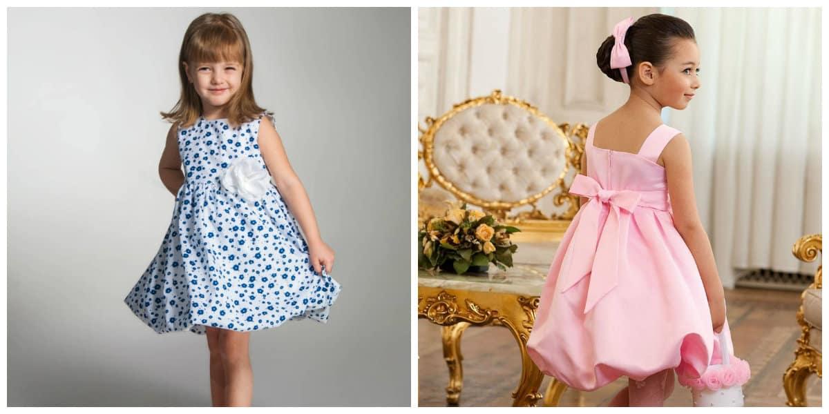 Neues Kleid für Mädchen 2021