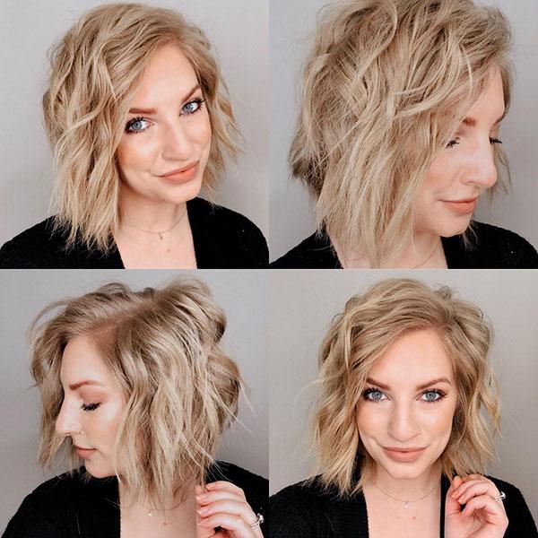 Kurze unordentliche Haarbilder