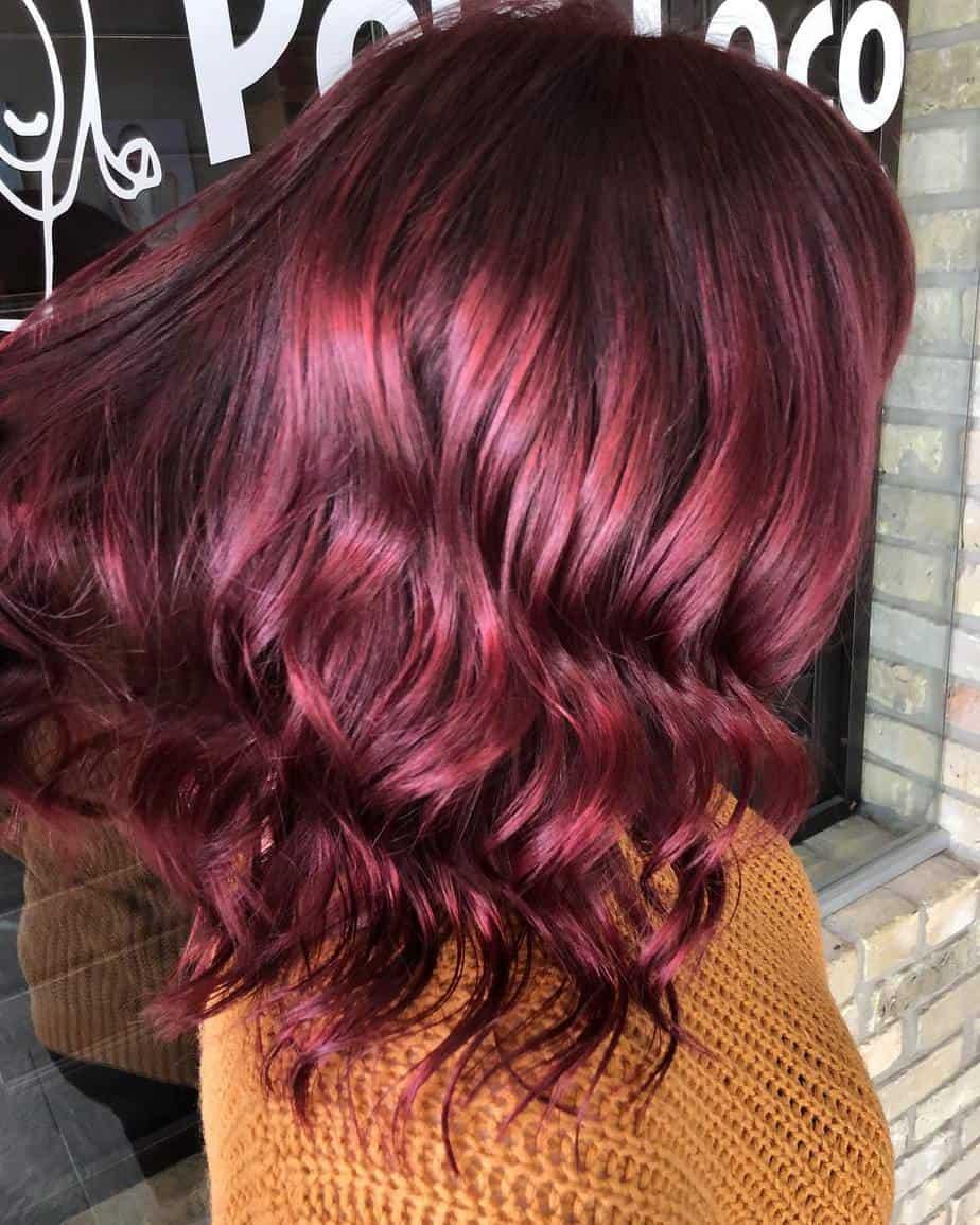 Rote Haarfarben 2021