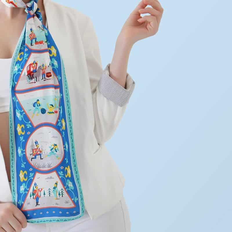 Schals 2021 für Frauen: Die stilvollsten Schal-Trends 2021
