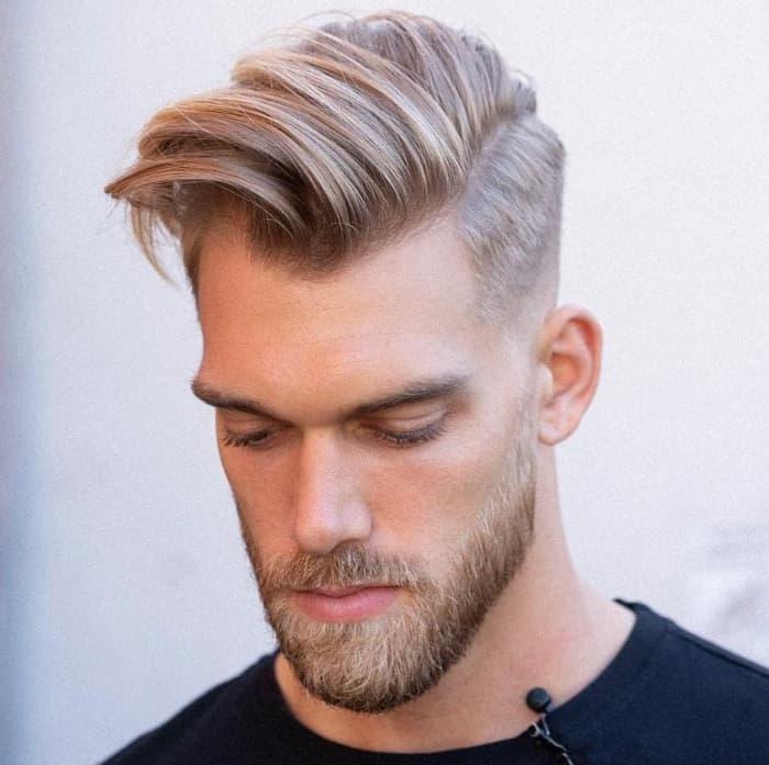 Seitenteil Haarschnitt