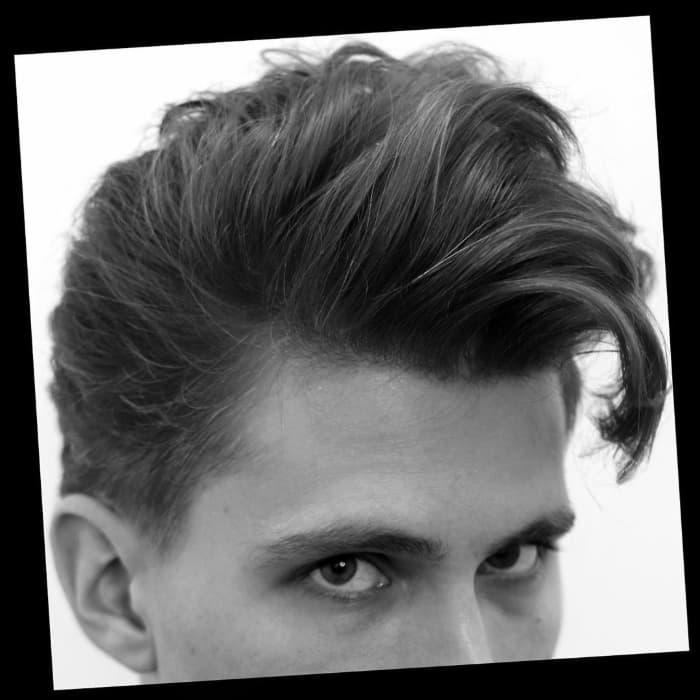 Das klassische Haar zum Aufbürsten