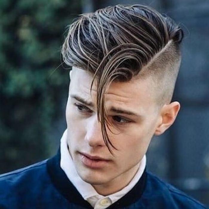 Medium Top Short Sides Frisur