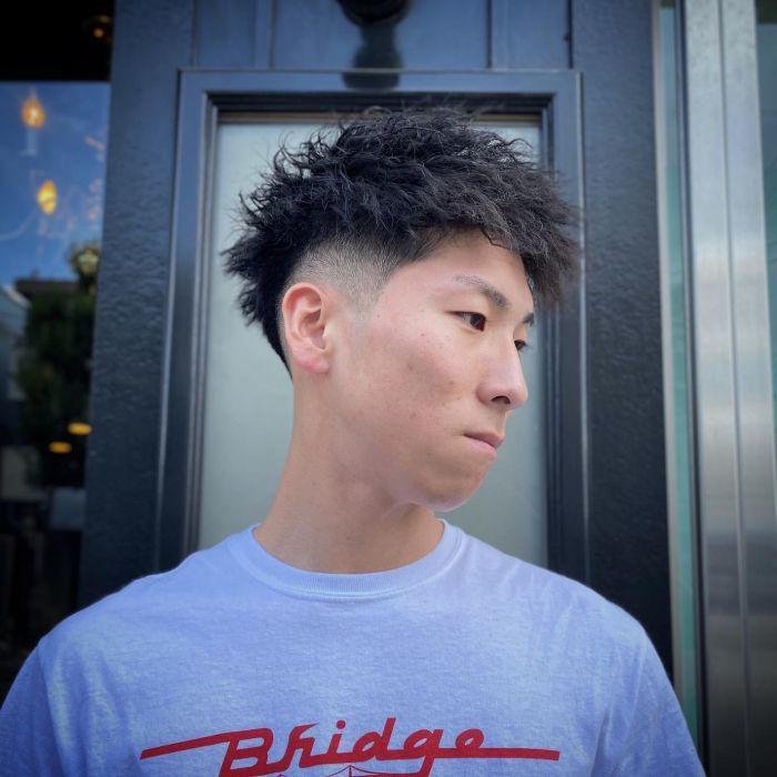 Spiky Low Fade Haircut