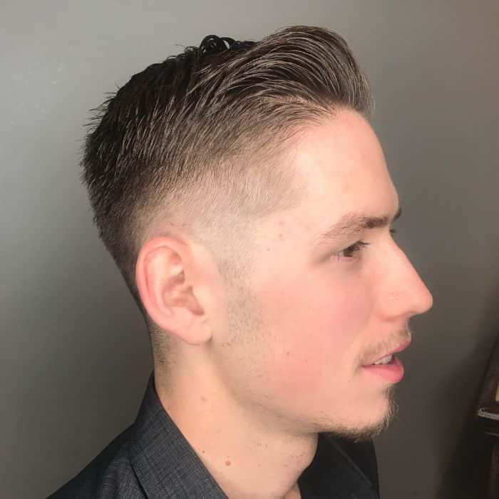 Wie man Ivy League Haarschnitt stylt