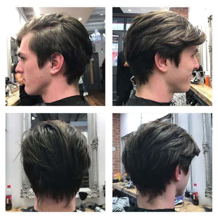 Langer Haarschnitt der Ivy League