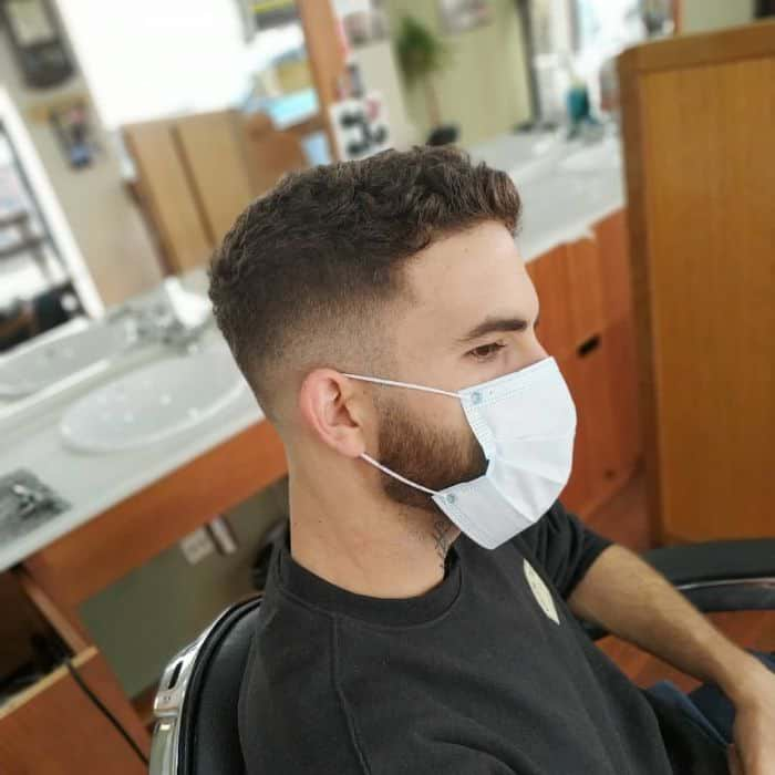 Moderner Princeton-Haarschnitt