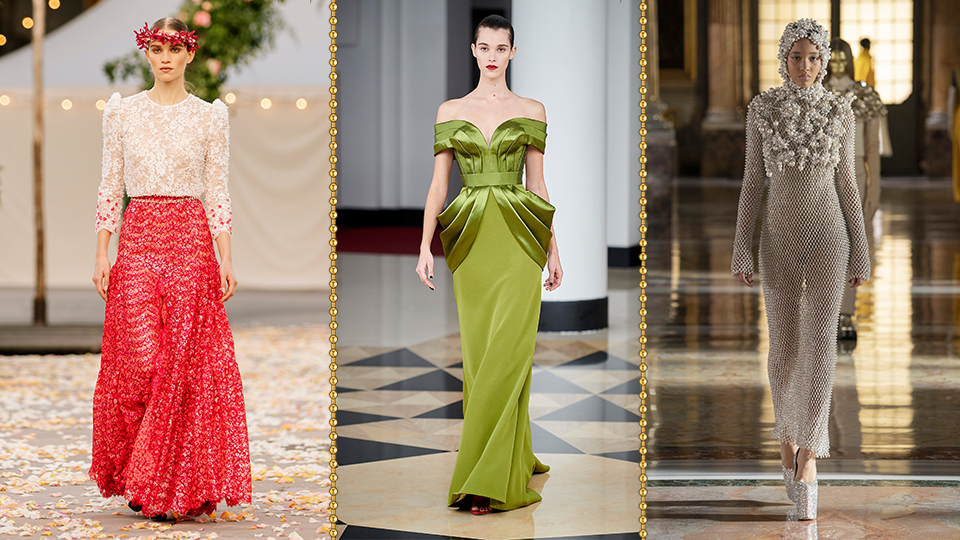 These Paris Fashion Week SS21 Couture Looks Give Me So Much Serotonin
