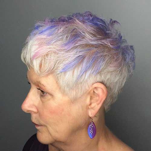 Kurze Frisuren für feines Haar über 60