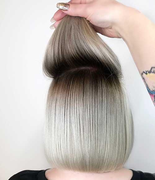 20+ einzigartige kurze Frisuren für feines Haar über 60
