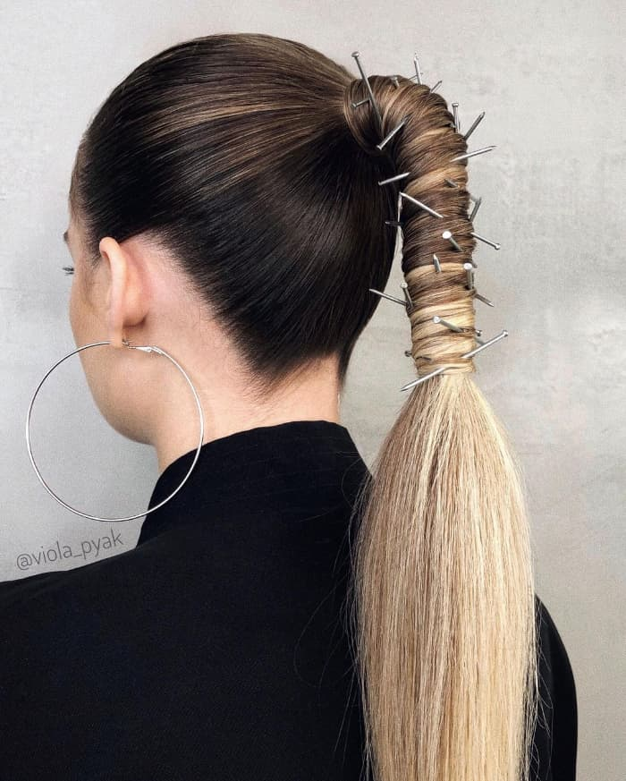 Trendige Ideen für gerade Frisuren