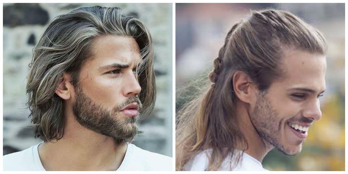 Top Trendy lange Frisuren für Männer 2021 (45 Foto +