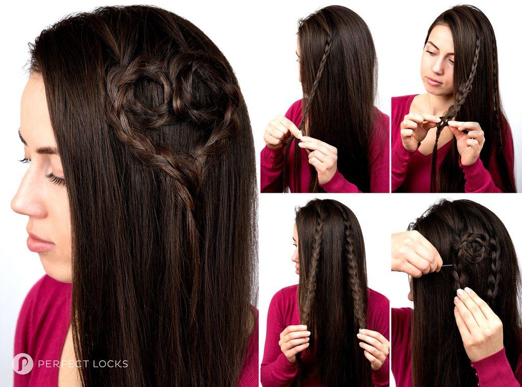 Frisuren mit Haarverlängerungen