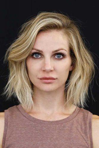 Beste Frisuren für quadratische Gesichter, die Sie mögen werden