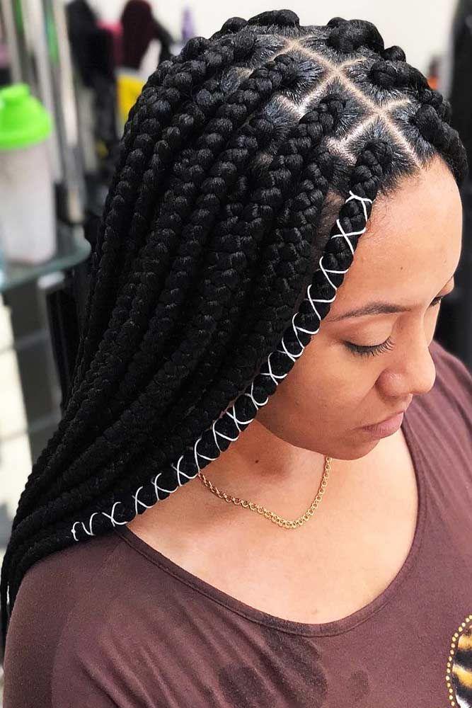 Box Braids Frisuren zum Selbermachen