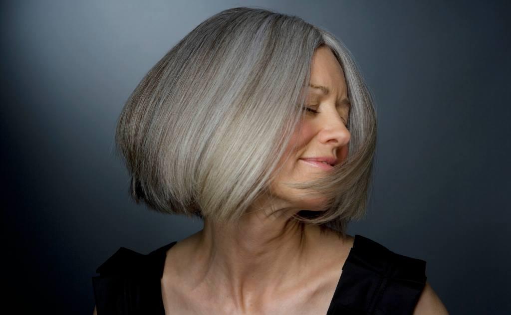 platinblondes Haar