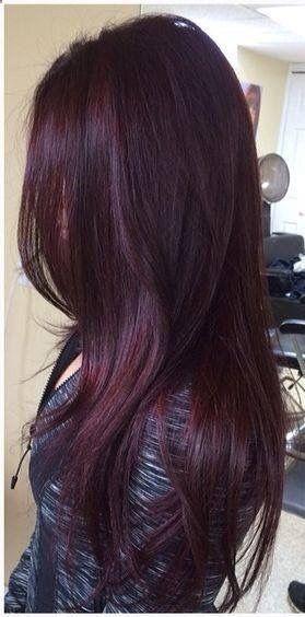 Burgunder Haarfarbe Ideen zu lieben