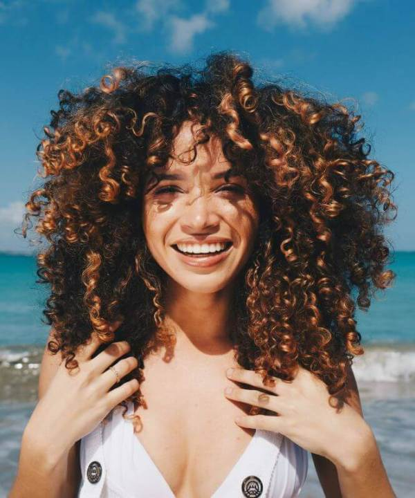 Springy Open Curls Haarschnitte 2020
