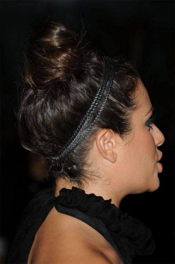 Volumierte Haarknoten für Haarknoten 2020
