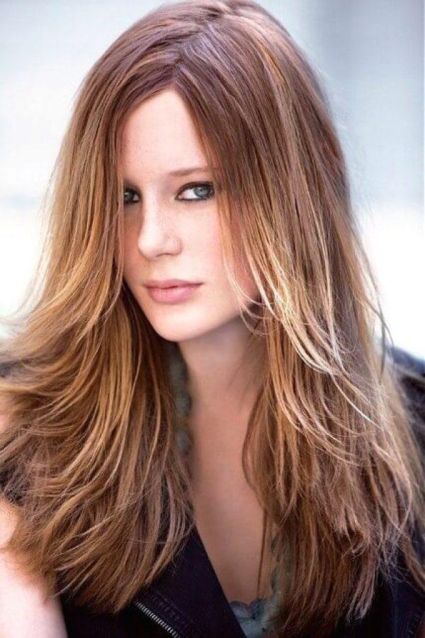 Wasserfall-Haarschnitt für langes Haar - Frauenfrisuren 2020